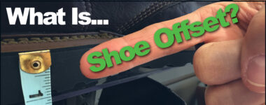 What is shoe offset