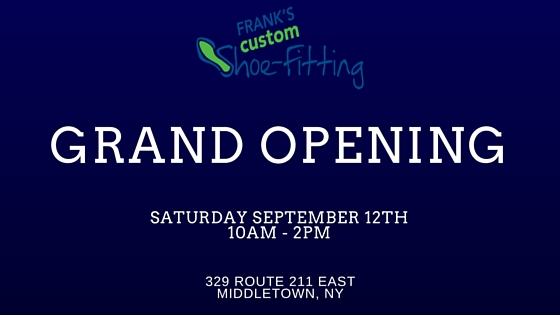 Franks Shoe Fitting Grand Opening